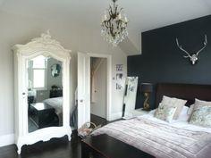 Grey Interior Design London Whitewashed Floorboards