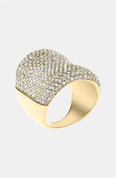 Michael Kors 'Brilliance' Saddle Ring available at Nordstrom