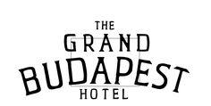 Logo The Grand Budapest Hotel