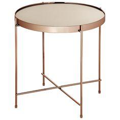 TOKSTOK - mesa lateral baixa plated