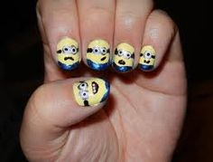 Despicable me nailss again brooo