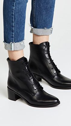 Freda Salvador The Ace Lace Up Booties – Русский женский сайт Lace Booties, Lace Up Boots, Knee Boots, White Wedges, White Shoes, No Tie Laces, Best Hiking Shoes, Tennis Shoes Outfit, Knee High Heels