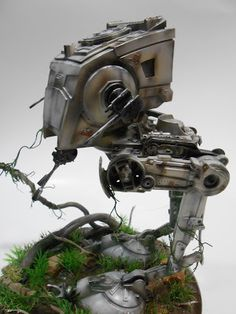 DROIDS FACTORY: Diorama STAR WARS