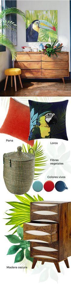 Tendencia decorativa 2016 Jungle Brazil | Maisons du Monde