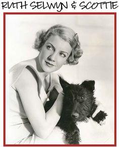 Ruth Selwyn with Scottie Dog