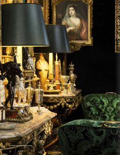 Inside The Beautiful World of Robert Zellinger de Balkany in Paris : his hôtel particulier : Hôtel de Feuquières, 62 rue de Varennes - An exceptional collection, assembled over more than fifty years with among famous paintings and objets d'Art, some marve