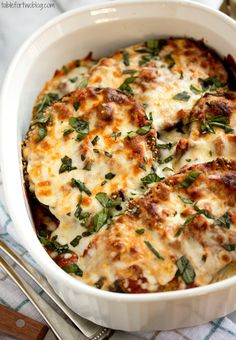 Eggplant Parmesan - Easy Vegetarian Recipes for Dinner - Photos