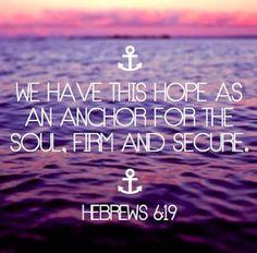 hebrews 6:19 ❤