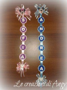 Fuori porta personalizzati per due fratellini, Sofia & Andrea.