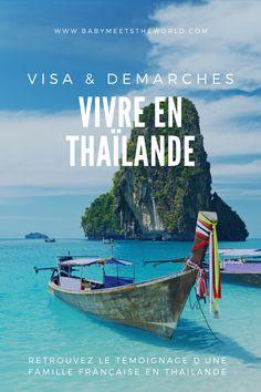S'expatrier et vivre en Thailande avec un bébé : l'expérience d'Aline Koh Phangan, Bangkok, Terrible Two, Les Bahamas, France, Movie Posters, Movies, How To Make, Spain