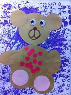 Periode 1 : les ours - Chez mes petits (...et moyens!) Kindergarten, Goldilocks And The Three Bears, 3 Bears, Petite Section, Animal Projects, 3 D, School, Offices, Traditional Tales