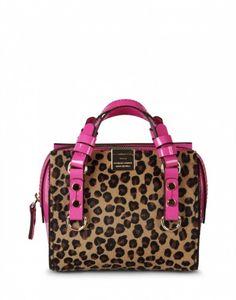 Bauletto animalier #Dsquared2 dalla collezione di borse primavera estate 2014 - #bags #bag