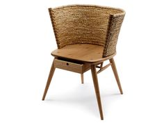 gareth neal's handcrafted leather, straw + wood