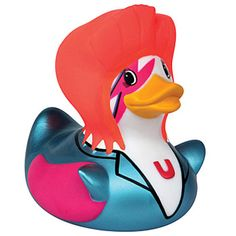 """love this bowie-duck, but when I tried to link, an """"error message"""" occurred - but perhaps i'll come across it again...rubber duck"""
