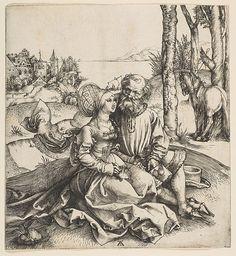 The Ill-Assorted Couple Albrecht Dürer (German, Nuremberg 1471–1528 Nuremberg)