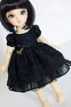 Little Witch  lolita dress set for YoSD littlefee LTF by kalcia