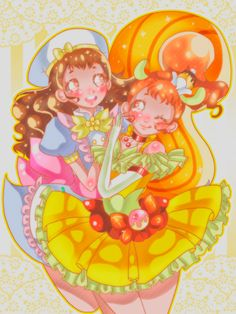Kira Kira Precure A la Mode - Cure Custard by Shunciwi on DeviantArt