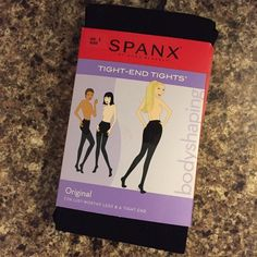 Spanx Tight End Tights Brand new in original packaging. Please verify your spanx size before purchasing :) SPANX Intimates & Sleepwear Shapewear