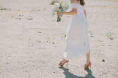This Elegant Palm Springs Wedding Nailed Desert-Chic #refinery29