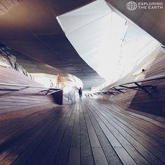 Exploration & Photo by @masanoritsuchiya Location / Osanbashi, International Passenger Terminal, Yokohama, Kanagawa, Japan