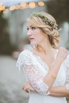 perfect bridal bohemian look // photo by Paper Antler