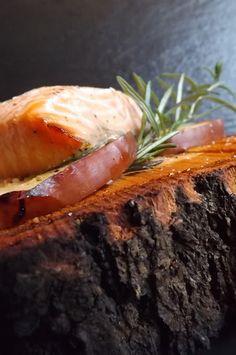 Lovely Cake: Salmone marinato alla Birra con mele arrosto, cott...