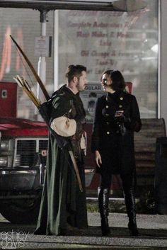 """Sean Maguire and Lana Parilla - 6 * 11 """"Tougher than the rest"""" - Behind the scenes - 2 November 2016"""