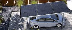 Cap Energie distributeur de Carport photovoltaïque permet aux propriétaires de véhicule électrique d'auto-alimenter les bornes de recharge pour voiture électrique grâce à l'abri voiture de la propriété