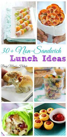 30+ non-sandwich lunch ideas