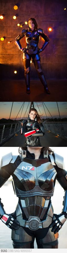 Awesome Mass Effect 3 N7 Armor (Femshep)