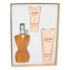 Jean Paul Gaultier by Jean Paul Gaultier -- Gift Set - 3.3 oz Eau De Toilette Spray + 2.5 oz Body Lotion + 1 oz Shower Gel for Women