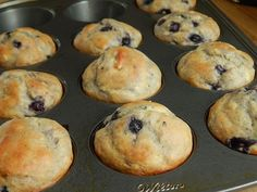 """When I saw how popular my Strawberry banana greek yogurt muffins had become, I knew I wanted to create a """"spin off"""" type muffin.. I think what it comes down to is.. who does'nt love a regular sized 2"""