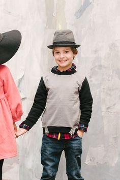 Vierra Rose Lucas Boys Sweatshirt at Mini Ruby