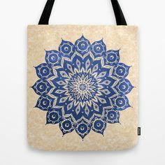 ókshirahm sky mandala Tote Bag by Peter Patrick Barreda - $22.00
