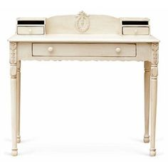 Check out this item at One Kings Lane! Mary Jane Writing Table, Cream