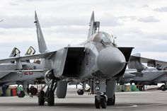 MiG working on new interceptor,capable of Mach 4.MiG-31 an interceptor based on MiG-25 Foxbat,with combat radius of 720km.Group of 4 Foxhounds can control area 1000km wide;190 MiG-31s currently in service,100 still flyable.According to famous experimental pilot Anatoliy Kvochur,MiG-41 to be capable of speeds above Mach 4,even Mach 4,3.Would make it faster than (now retired) American SR-71 Blackbird.Currently Foxhound capable of Mach 2.8.