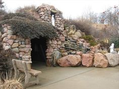 Lourdes grotto, Sioux City, Iowa