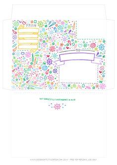 Colourful Envelope
