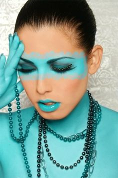 Colours: Teal, Turquoise, Aqua and Mint Shades Of Turquoise, Aqua Blue, Shades Of Blue, Turquoise Makeup, Teal Makeup, Turquoise Fashion, Light Turquoise, Turquoise Color, Teal Green