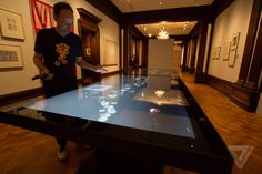 Smithsonian pen and interactive tables
