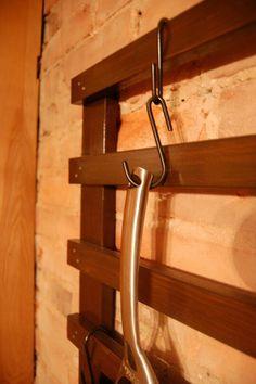 Wall mount pot rack...like in my kitchen