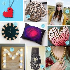 DIY Christmas Gift Guide- Fun Finds 2012