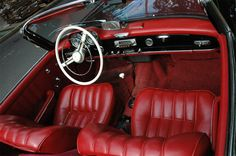 Mercedes-Benz 190SL interieur