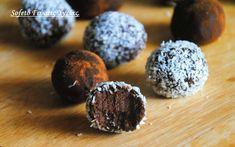 βόμβες σοκολάτας Stevia Recipes, Decadent Cakes, Death By Chocolate, Muffin, Sweets, Cookies, Healthy, Breakfast, Desserts