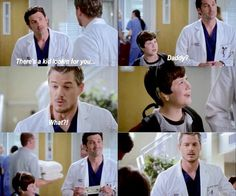 Grey's Anatomy Moment Derek & Mark