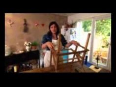 Kirstie Creates chairs WMV Christmas Crafts, Chairs, Homemade, Create, Videos, Home Made, Stool, Side Chairs, Chair