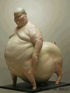 u are what u eat.....and even if you happen not to appear fat, have you ever stopped to think about what your insides look likes?  Imagine congealed bacon grease.  Now imagine where that goes once it enters your mouth.....it's in their somewhere.