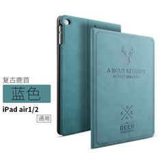 Case For ipad air 2 Luxury Leather Case For Apple iPad air2 for iPad 6 cover With Auto Wake/Sleep Fashion design free shipping