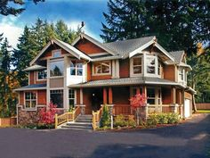 Craftsman House Plan with 2890 Square Feet and 3 Bedrooms from Dream Home Source | House Plan Code DHSW52556