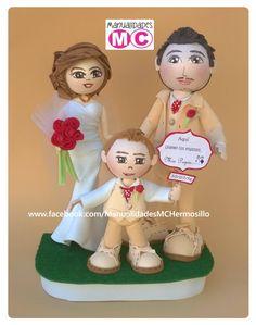 """Topping wedding cake """"Familia Levi"""""""